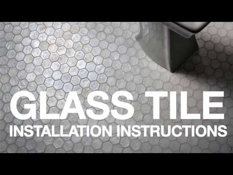Learn Best Practices for Installing Glass Tile