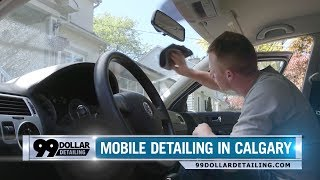 Affordable mobile auto interior detailing in Calgary, Alberta