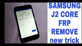 J2 Core SM-J260G 100% FRP Unlock ll Google Account Remove 100%