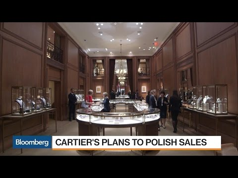 How Cartier Plans to Polish Sales