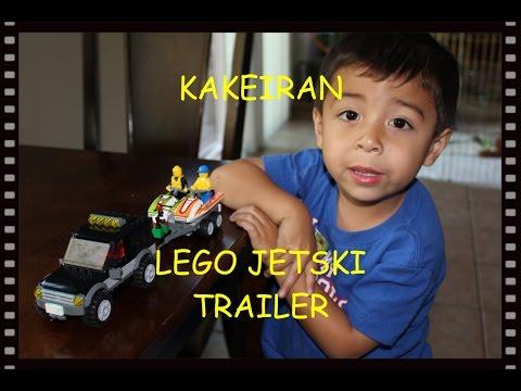 Lego Jet Ski Trailer