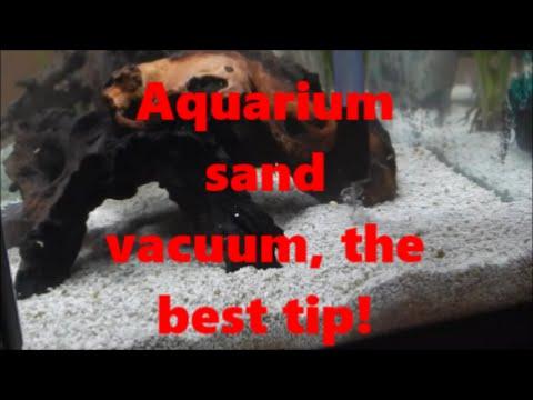 Aquarium sand vacuum, the best tip!