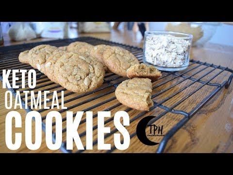 Keto Oatmeal Cookies | Low-Carb Oatmeal Cookie Recipe