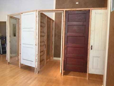 Salvaged Door Dressing Rooms : Time Lapse Construction