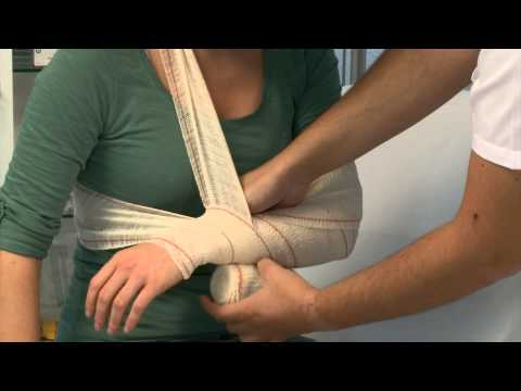 Sprains & Strains | Arm Bandage | http://www.nationalcprfoundation.com/