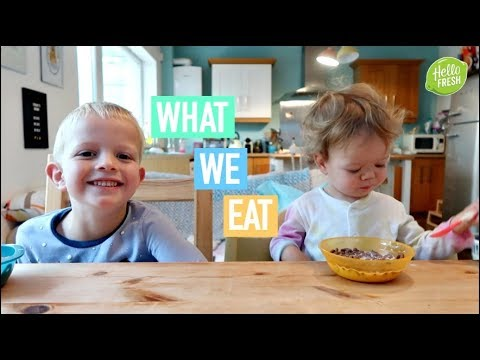 WHAT I EAT IN A DAY - MUM & KIDS - DINNER IS SOLVED FOR A FAMILY OF FOUR #ad