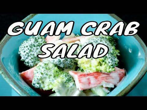 Guam Crab and Broccoli Salad
