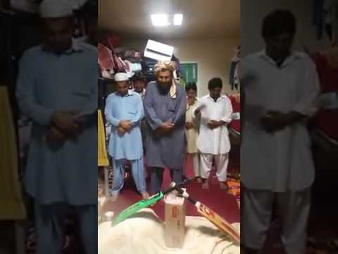 Pakistani cricket gaybana the funeral in Pakistan, Maulvi players curses filled the sound of pain.