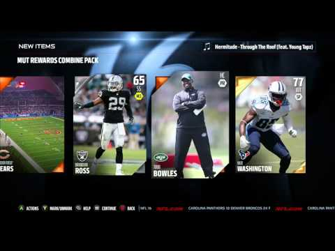 Madden 16 Combine Pack Opening!