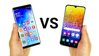 Galaxy Note 8 vs Galaxy A50
