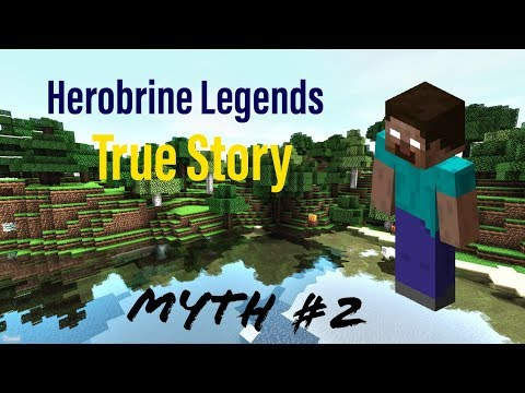 The Legend Of Herobrine | Myth Buster #2