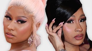 Cardi B & Nicki Minaj Feud Was Fake?