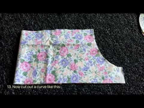 How To Make A Pattern For A Cute Little Girl's Dress - DIY Style Tutorial - Guidecentral