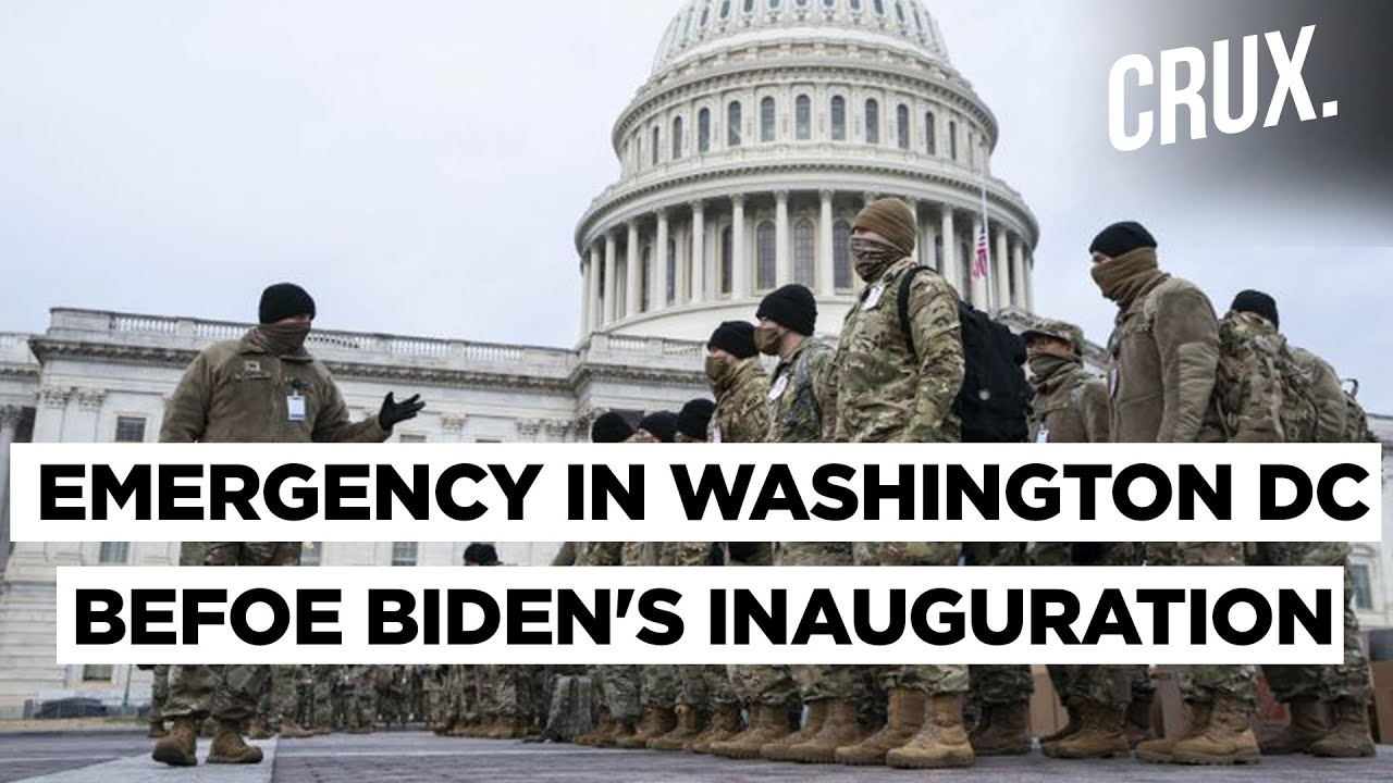US Beefs Up Security For Joe Biden's Inauguration Amid FBI Threats of Armed Protests | Crux