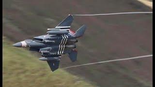D Day Heritage F15 Eagle  Mach Loop!!