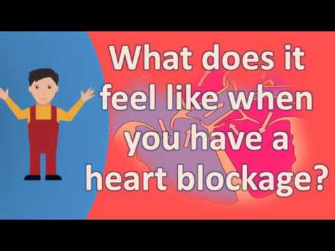 What does it feel like when you have a heart blockage ?  | Health FAQS | It's All about your health
