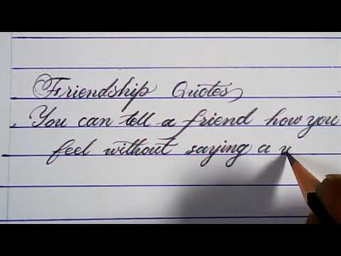 How to write good handwriting with pencil | pencil calligraphy | mazic writer