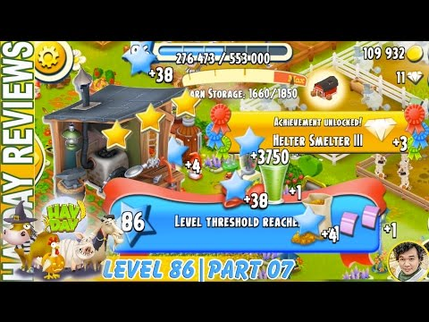 Reaching Third Level Threshold While Updating Jewelry in Hay Day Level 86 | Part 07