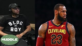 LeBron James TROLLED After Embarrassing Loss, Steph Curry SHADES Media!   Huddle
