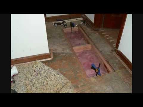 Subfloor Repair & Squeak Elimination