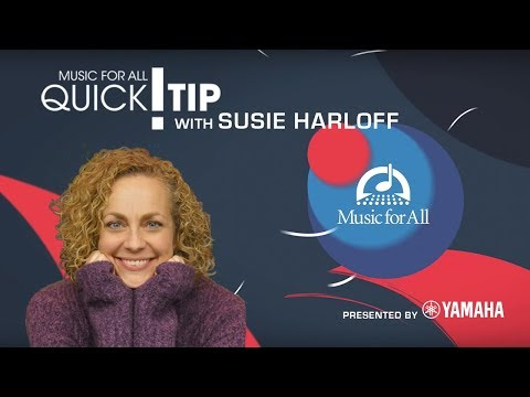 Quick Tip with Susie Harloff