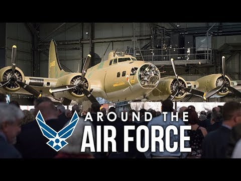 Around the Air Force: Memphis Belle on Display