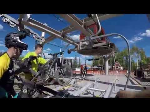 Mountain Biking Canyons Resort in Park City, Utah