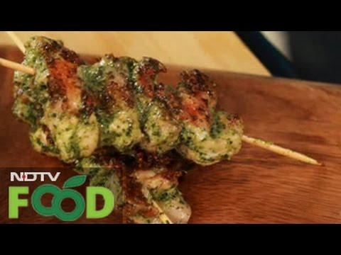 Watch recipe: BBQ Chicken Skewers