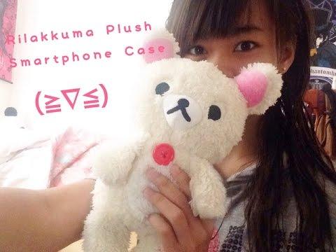 【Arisa】Rilakkuma Plush Smartphone Case Review