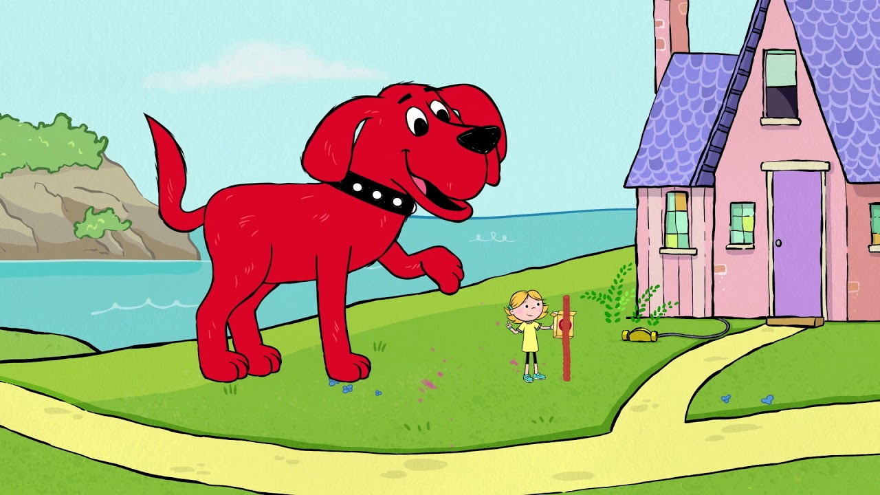 Clifford The Big Red Dog | The Tallest Doggy Treat Tower Ever!