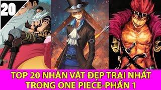 Top 20 những người đẹp trai nhất trong One Piece mà bạn không ngờ tới - Top  Anime (P1)