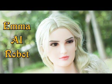 Meet Emma - World First Talking Artificial Intelligent Humanoid Female Robot By Bride Robot Tech.❤❤