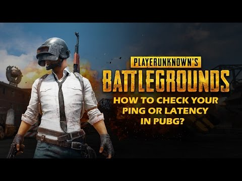 How to CHECK your PING or Latency in PLAYERUNKNOWN'S BATTLEGROUNDS? (Not in game)