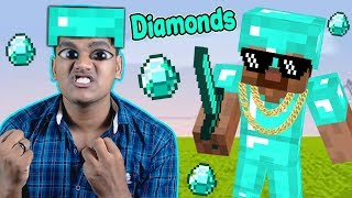 Covered Myself in Diamonds in Minecraft - Part 27