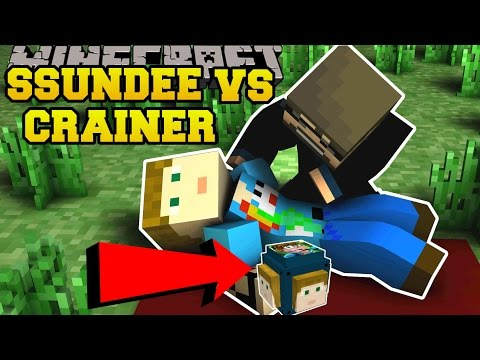 Minecraft: SSUNDEE VS CRAINER CHALLENGE GAMES - Lucky Block Mod - Modded Mini-Game