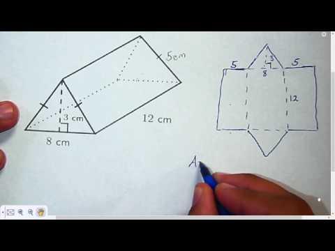 Surface Area Triangular Prism