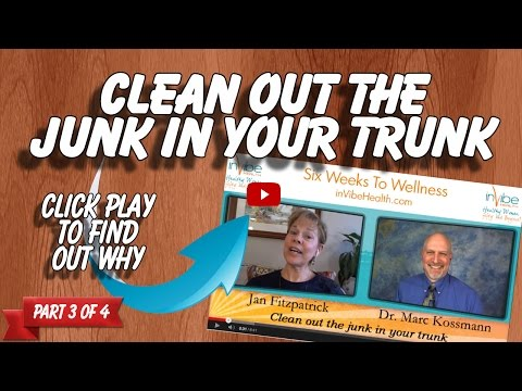 Clean out the junk in your trunk | Six Weeks to Wellness | 150303
