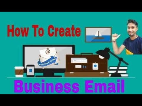 How to Create a Business Email  with your Brand Name In hindi