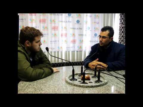 Entrevista com técnico Júlio César Nunes. Rádio Viva News