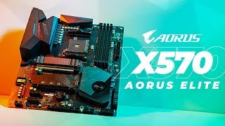 Gigabyte X570 AORUS ELITE - First Look and Overview
