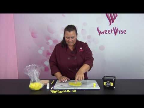 How To Make a Gumpaste Rose Without Gumpaste by www SweetWise com