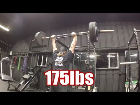 Over Head Press PR /Workout and Vlog