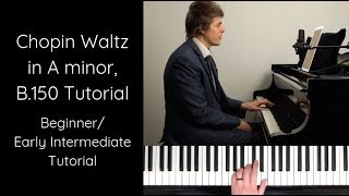 Chopin Waltz In A Minor Op Posth (Must Know Piano Tutorial) - PakVim