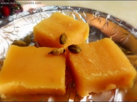 Mysore Pak Recipe - Soft And Melt in Mouth Sweet