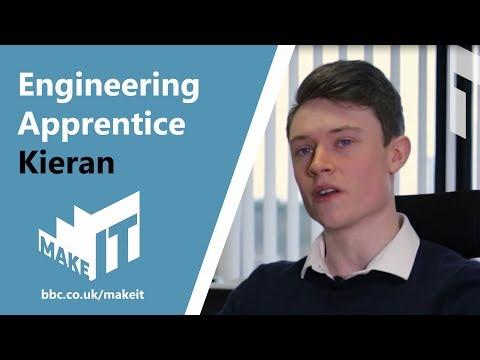 ENGINEERING APPRENTICE - KIERAN   BBC Make It