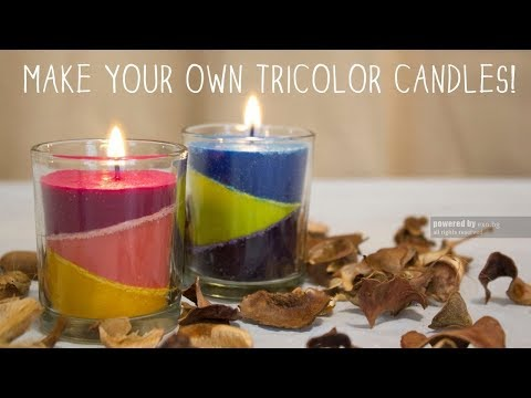 DIY  Scented Candle Step By Step Making Procedure candle making at home
