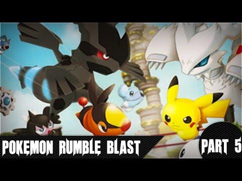 Pokémon Rumble Blast - 1-2 Seabreeze Trail (Battle Royale)