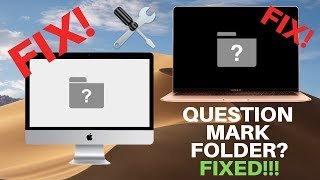Question Mark Folder Fix in Detail – Why? And How to fix on any Apple Mac!