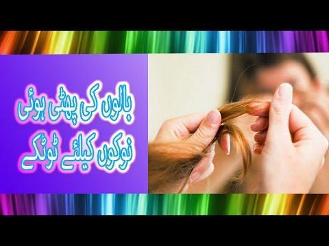 How to Fix Split Ends | How To Get Rid of Split Ends | balo ka ilaj (Urdu/Hindi Video)