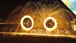 Steel Wool Sparklers - Hard Science